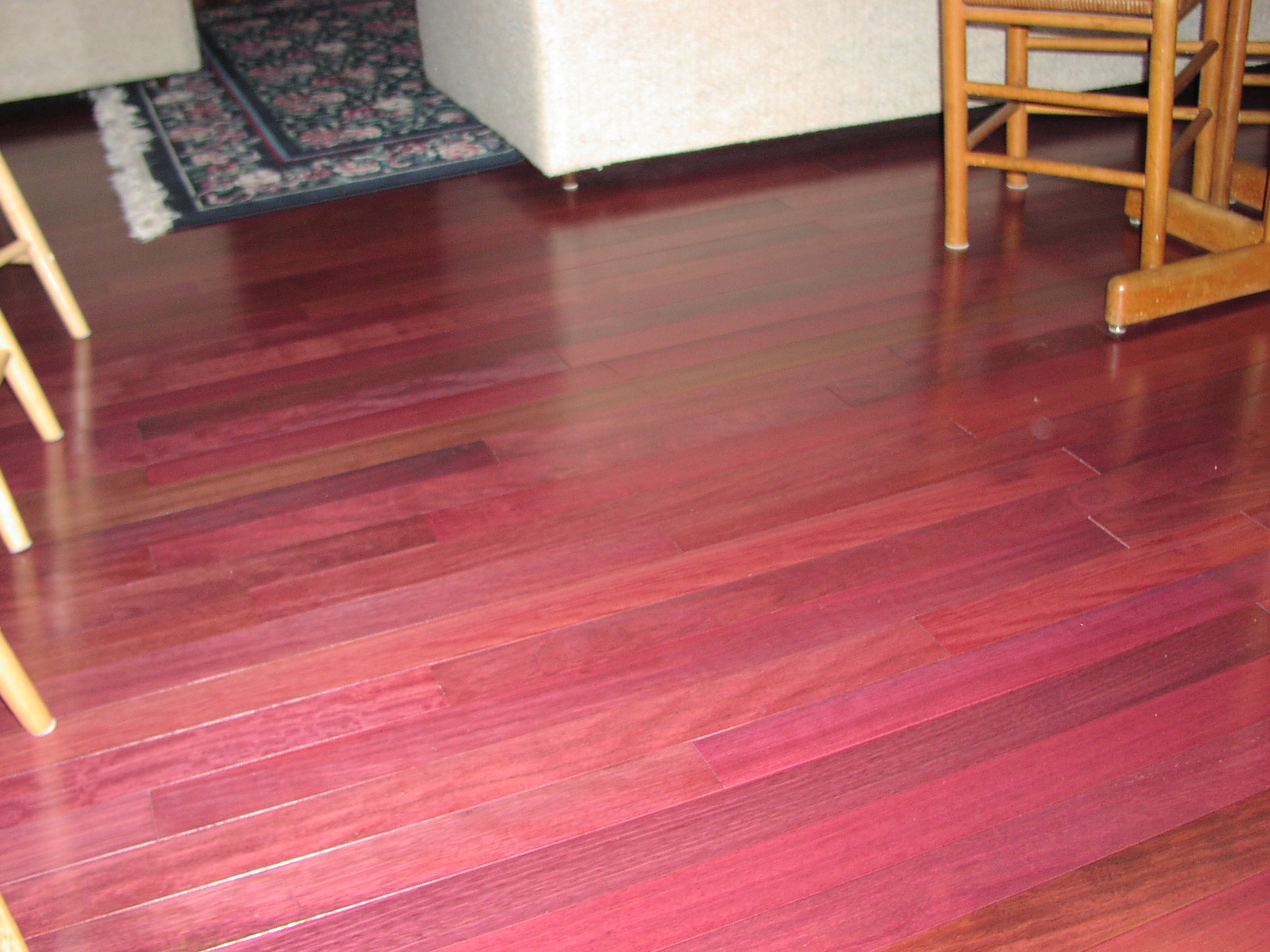 Purple heart wood purple hearts and floors on pinterest for Purple heart flooring